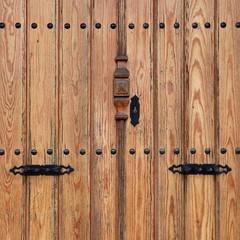 wooden door-square