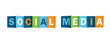 """SOCIAL MEDIA"" (information society networking icon)"