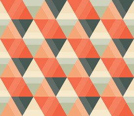 A seamless repeating pattern with a hexagonal style