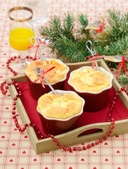 cheese souffle in Christmas Decor