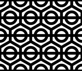 A seamless ornate style vector pattern