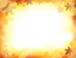 Autumn theme background 8