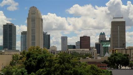 Orlando FL USA City skyline