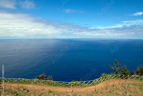 canvas print picture Madeira Nordküste nahe Santana