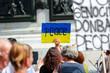 Protest manifestation against war in Ukraine