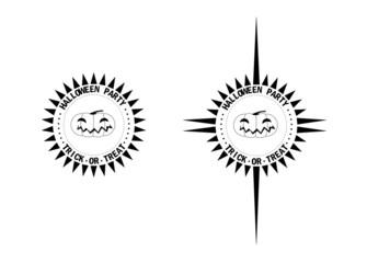 Logo halloween party