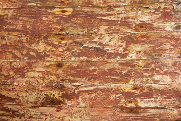Old Wooden Plank of the ship