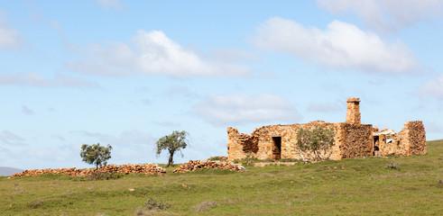 abandoned homestead in Flinders Ranges Australia