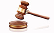 Gerichtshammer, Richterhammer, Auktionshammer, freigestellt