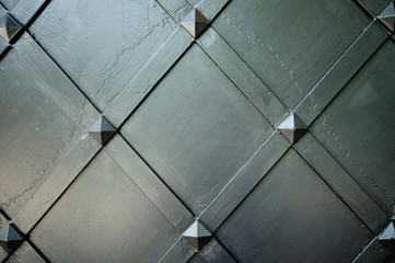 Texture, metallo con rombi