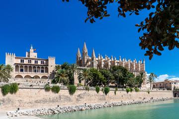 "Palast der Almudaina - Kathedrale ""La Seu"" - Mallorca - 4179"