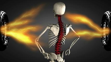Loop rotate skeleton