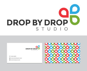 Drop by drop logo