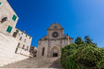 クロアチア 聖ヤコブ大聖堂 Šibenik Cathedral Croatia