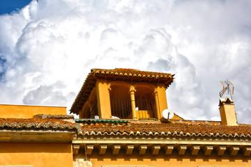 Guadix, Andalucía, Granada, torreón, mirador
