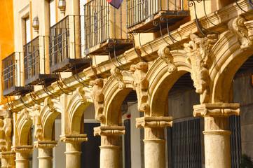 Plaza Mayor de Guadix, Andalucía, España