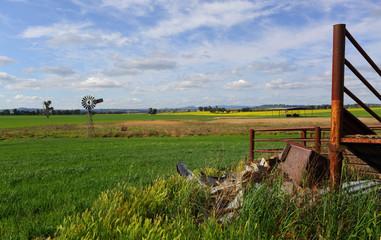 Outback rural landscape Australia