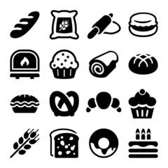 bakery iconset