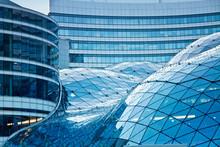Nowoczesna architektura budynku biurowego