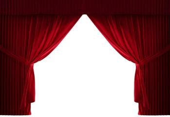 Theater Velvet red courtain