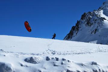 Snowkite & glisse