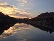 Himmel Spiegelung im Fluss