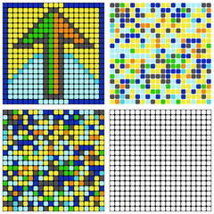 Puzzle (arrow-mosaic)