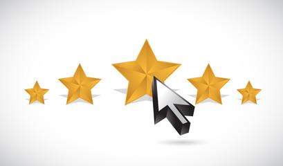 star rating illustration design