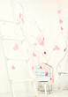 Obrazy na płótnie, fototapety, zdjęcia, fotoobrazy drukowane : interior with pink hearts