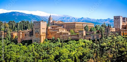 Leinwanddruck Bild Granada