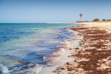 Coast of Persian Gulf in Ras Tanura, Saudi Arabia