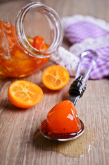 Jam from kumquats