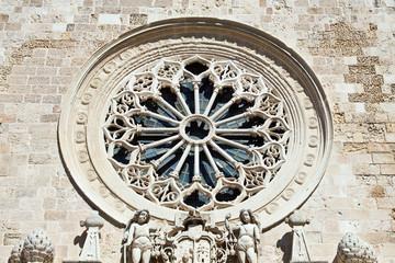 Otranto, il rosone della Cattedrale