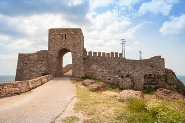 Old fortress in Kaliakra, Bulgaria
