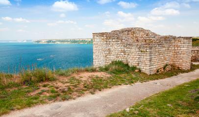 Bulgarian Black Sea Coast. Ancient fortress on Kaliakra headlan