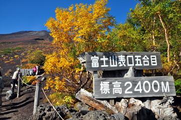 富士山登山口