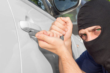 Car theft.