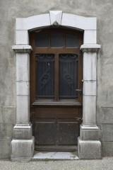 old door - Laruns, Pyrénées-Atlantiques - France