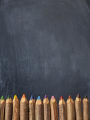 A scuola - matite colorate