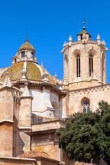 The Cathedral of Tarragona. Roman Catholic church in Catalonia,