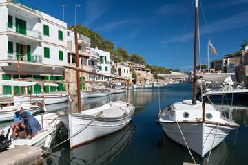 XXX - Bootshafen von Cala Figuera / Mallorca - 3886