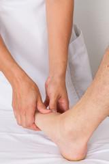 stimuler les orteils