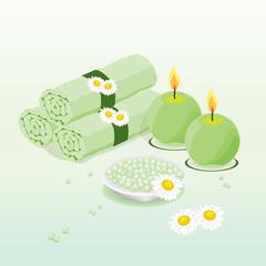 Spa en verde