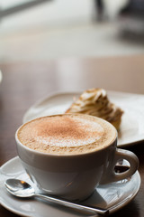 Чашечка кофе. Капучино.