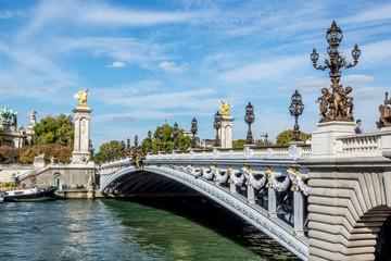 paris france pont alexandre III