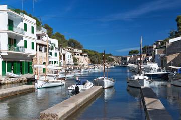XXX - Alter Bootshafen von Cala Figuera, Mallorca - 3878