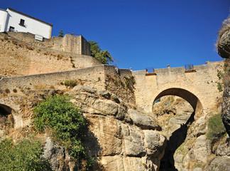 Puente Viejo de Ronda, Málaga, España