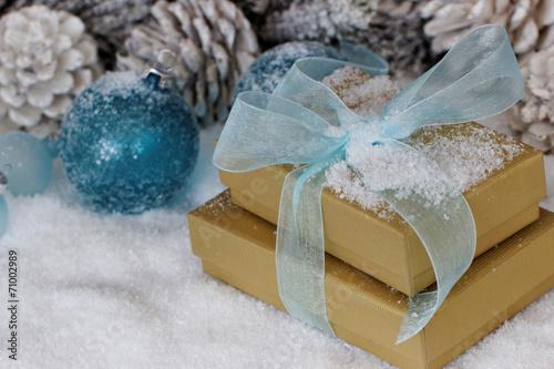 canvas print picture Weihnachtsgeschenke