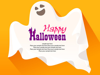 Happy ghost greetings