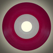 Retro look Vinyl record